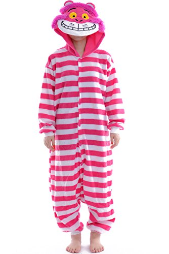 DAYAN Pajamas Anime Costume Adult Animal Onesie Cheshire Cat Cosplay