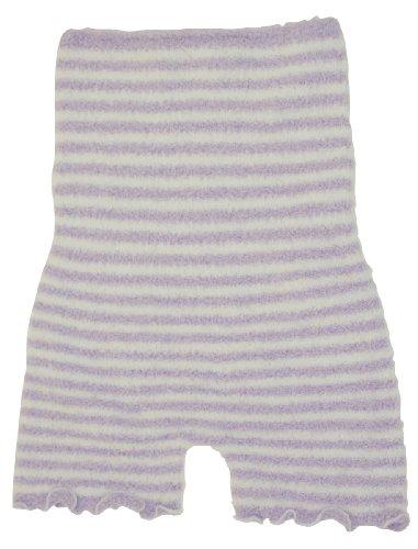 ふわふわ腹巻パンツ(毛糸のパンツ)《パープル》1枚 マイクロファイバーあたたか柔らか素材 冷え性やむくみに。