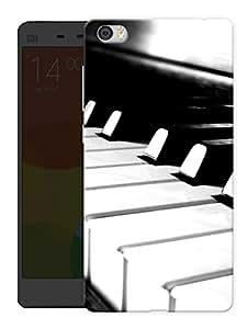 "Humor Gang Keyboard Piano Keys Printed Designer Mobile Back Cover For ""Xiaomi Redmi Mi5"" (3D, Matte, Premium Quality Snap On Case)"