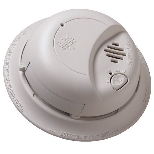 Hardwired Smoke Alarm With Battery Backup (6 Pack)