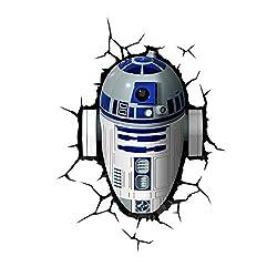 3 D Light Fx Star Wars R2 D2 3 D Deco Led Wall Light