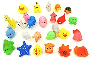 XKX Mini Rubber Baby Bath Toy(26-Pack) by XKX that we recomend individually.