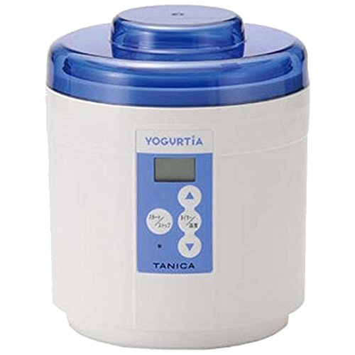 タニカ電器 ヨーグルトメーカー 「ヨーグルティア スタートセット」 YM-1200PLUS-NB ブルー