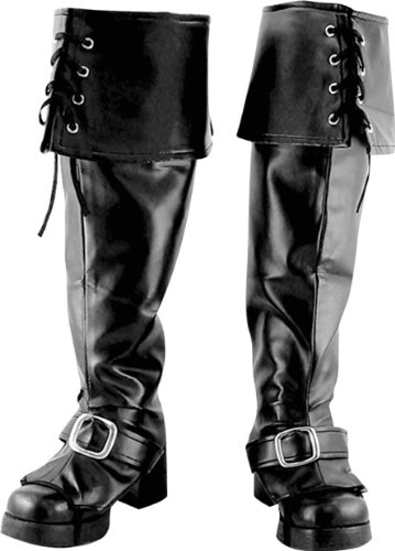 Men's Deluxe Pirate Boot Covers