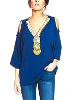 BANDIDA Blusa (Azul)
