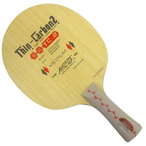 Galaxy / Milky Way / Yinhe TC-2 (TC 2, TC2) Thin-Carbon2 Table Tennis Blade for Ping Pong Racket, Long(shakehand)-FL