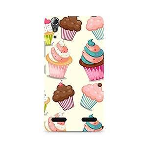 Ebby Cute Cupcakes Premium Printed Case For Lenovo A6000