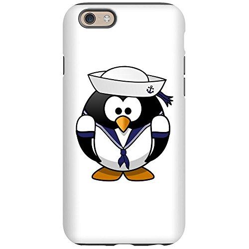 iPhone 6 Tough Case Little Round Penguin - Navy Sailor