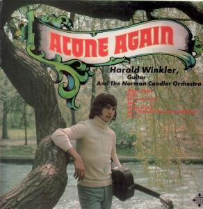 ALONE AGAIN LP (VINYL ALBUM) GERMAN TELEFUNKEN 1973 by HARALD WINKLER