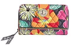 Vera Bradly Turn Lock Wallet in Jazzy Blooms