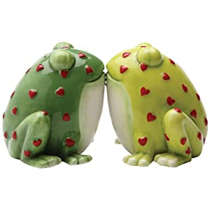 Horny Toads Frog Salt and Pepper Shaker Set S/P
