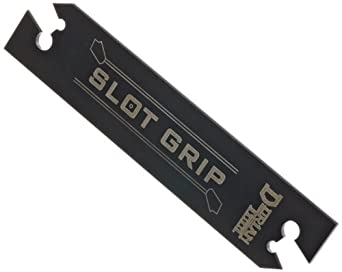 "Dorian Tool SGIH Slot Grip Positive Stop Cut-Off Blade for SGT(N/R/L)-2 Inserts, 3-3/8"" Length, 3/4"" Height, 1/16"" Thick"