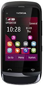 Nokia C2-02 chrome black