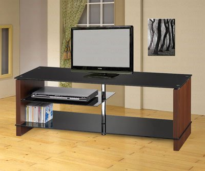 Cheap Contemporary Black Finish TV Stand by Coaster Furniture (VF_AZ00-46756×36587)