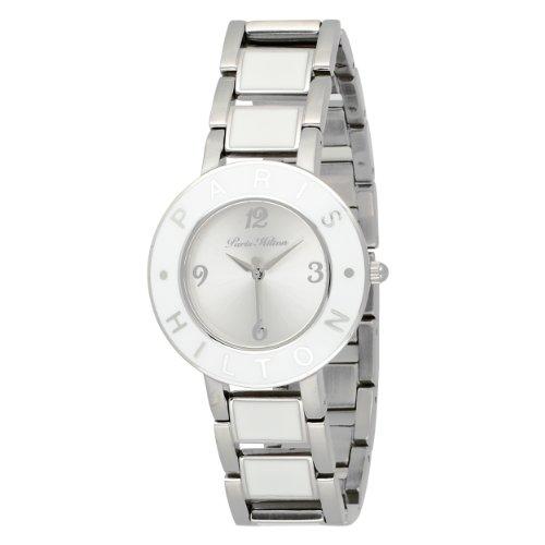 Paris Hilton Women's 138.5166.60 Logo White Dial Watch