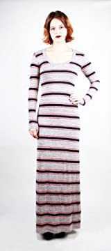 MOHAWK LONG SLEEVE MAXI DRESS MOHAWKRED