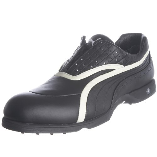 Puma Men's Swing Gtx Black/White Golf Shoe 183016-02 6 UK