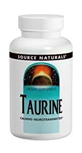 Source Naturals Taurine, 500mg, 120 Tablets