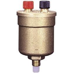"WATTS BRASS & TUBULAR DUO VENT 1/8 1/8"" Boiler Vent Valve"
