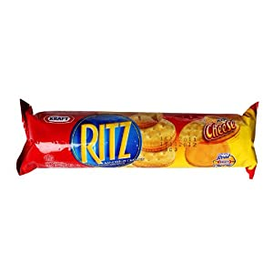 Amazon.com: Nabisco Ritz Cracker (118 g) Cheese Flavor