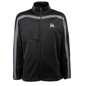MLB Mens Miami Marlins Viper Jacket by Antigua