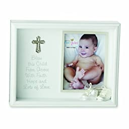 Nat and Jules Bless This Child Shadow Box Frame