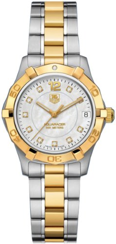 TAG Heuer Women's WAF1320.BB0820 Aquaracer Two-Tone Diamond Watch