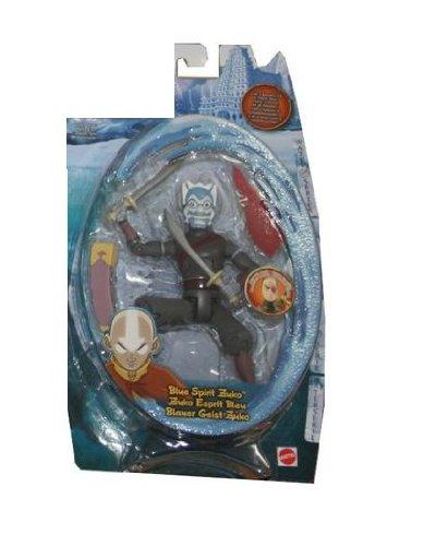 Buy Low Price Mattel Avatar The Last Air Bender Water Series Basic Figure 6 Inch – Blue Spirit Zuko (B000MR4CDM)
