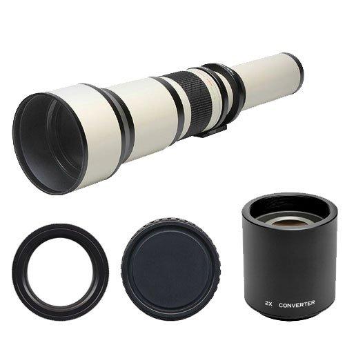 Phoenix 650-1300Mm Telephoto Zoom Lens With 2X Teleconverter (=650-2600Mm) For Sony Alpha Dslr Slt-A35, A37, A55, A57, A65, A77 Digital Slr Cameras