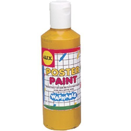 41F%2BAlybEHL Cheap Price ALEX® Toys   Young Artist Studio Washable Poster Paint 8oz. Yellow 280Y