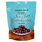 Trader Joe's Chocolate Covered Sea Salt Butterscotch Caramels (Pack of 3)
