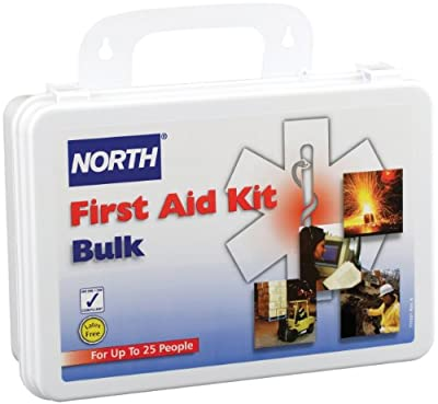North by Honeywell 019702-0002L 25 person Kit, Bulk, Plastic by North