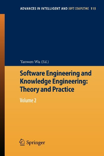 Software Engineering And Knowledge Engineering: Theory And Practice: Volume 2 (Advances In Intelligent And Soft Computing)