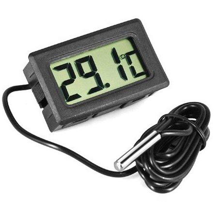 Jeco thermom tre digital encastrable avec sonde for Thermometre digital pour piscine