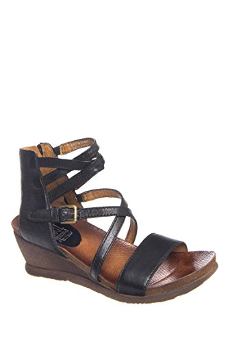 Shay Low Wedge Strappy Sandal