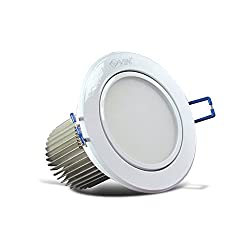 12W LED Down Lights Warm White Color, 1 Year Warranty