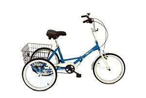 Fold and GO Special Edition Adult Trike by True