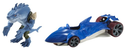 Buy Low Price Mattel Hot Wheels Battle Force 5 Water Slaughter Vehicle and Sever Figure (B003ULOB2E)