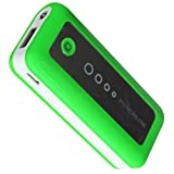 Green 5600mAh External Charger Capacity Travel Power Bank For For iphone 5 4 4s 3G 3GS/IPAD2/3/4,Samsung Galaxy S4 i9500/S3 i9300/i9100/Galaxy Ace S5830/Y S5360/Galaxy Note 2 II N7100 N7000/Nokia Lumia 920 822 800 710 N8/HTC Desire HD S Wildfire S HTC ON