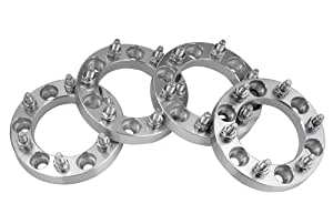 4 Toyota Tundra Wheel Spacers Adapters 1 inch thick fits ALL 6 Lug Toyota Tundra Models