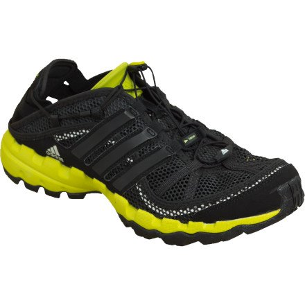 8f077b7621bb8 Best Buy Adidas Men s Hydroterra Shandal Water Shoes - Solid Grey  Black   Half Green 10 Online Shop