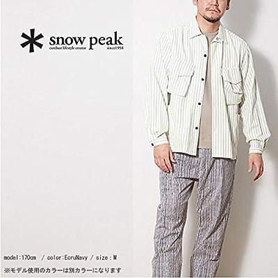 snow peak スノーピーク タキビシャツ
