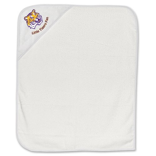LSU Tigers Infant Baby Hooded Bath Towel