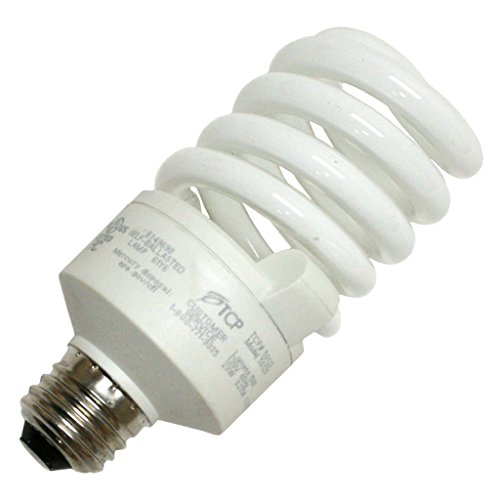 TCP 5012350K CFL SpringLamp - 100 Watt Equivalent (only 23W used) Daylight (5000K) TruDim Dimmable Spiral Light Bulb (Flourescent Bulbs Dimmable compare prices)
