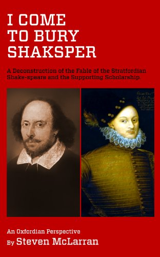 Huge save onshakespeare in oxford I Come to Bury Shaksper