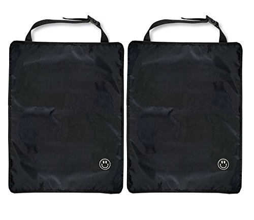 Kick Mat, Luxury Car Seat Back Protectors, 2 Count - 1
