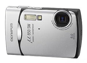 """Olympus µ-850SW Appareil photo compact numérique Etanche 3m Antichoc 1,5m 8 mégapixels Zoom 3x Ecran LDC 2,5"""" Argent"""