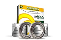 10 Pack - FR188-ZZ (1/4 x 1/2 x 3/16 inch) Flanged Ball Bearing