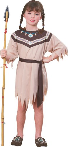 Haunted House Child's Native American Princess Costume, Large