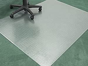 "Amazon.com : Chair Mats 60"" x 96"" without Lip for Carpeted"